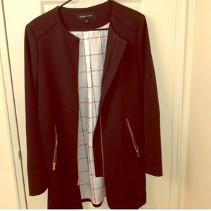 Lightweight Black Overcoat